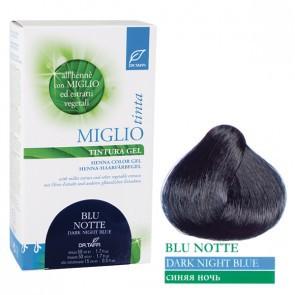 Miglio Tinta Plus Haarfarbe Blau-Schwarz 115 ml