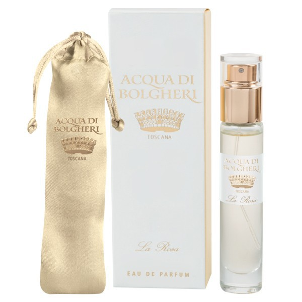 Acqua di Bolgheri Rose Eau de Parfum - edeles Handtaschenformat - 15 ml