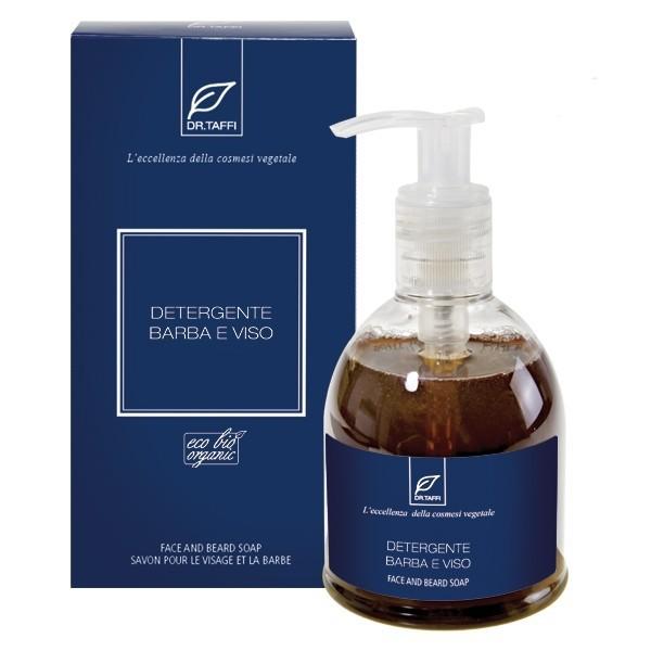 Gesichts- und Bartreinigungsseife ORGANIC&VEGAN - 250 ml