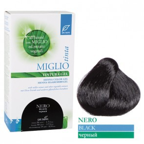 Miglio Tinta Plus Haarfarbe Schwarz 115 ml