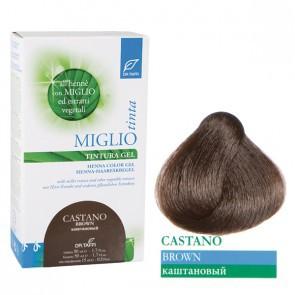 Miglio Tinta Plus Haarfarbe Braun 115 ml