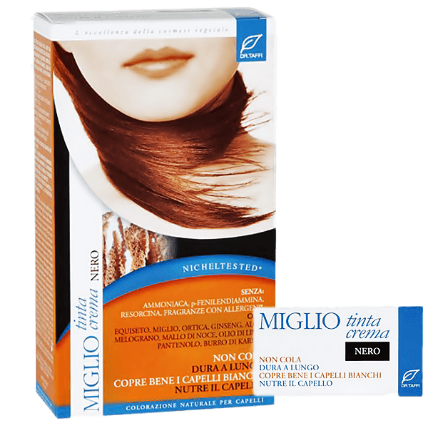 Miglio Tinta Crema Haarfarbe schwarz 115 ml