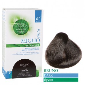 Miglio Tinta Plus Haarfarbe Braun-Schwarz (Dunkel) 115 ml