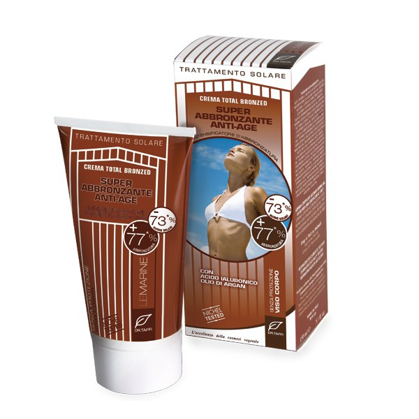 SPF 0 Bräunungscreme +77% (Anti Age) - 150 ml