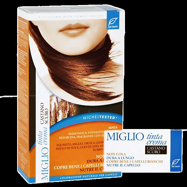 Miglio Tinta Crema Haarfarbe dunkelbraun 115 ml