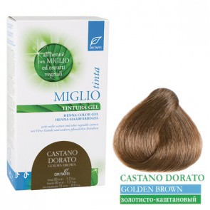 Miglio Tinta Plus Haarfarbe Goldbraun 115 ml