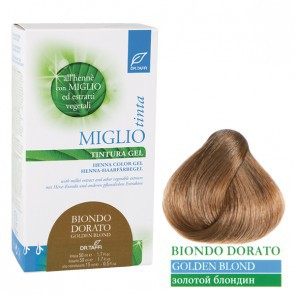 Miglio Tinta Plus Haarfarbe Goldblond 115 ml