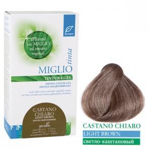 Miglio Tinta Plus Haarfarbe Hellbraun 115 ml